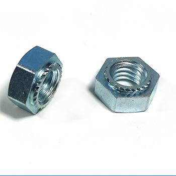 镀锌六角压铆螺母